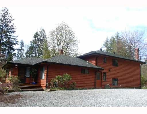 Main Photo: 11319 280TH Street in Maple_Ridge: Whonnock House for sale (Maple Ridge)  : MLS® # V760444