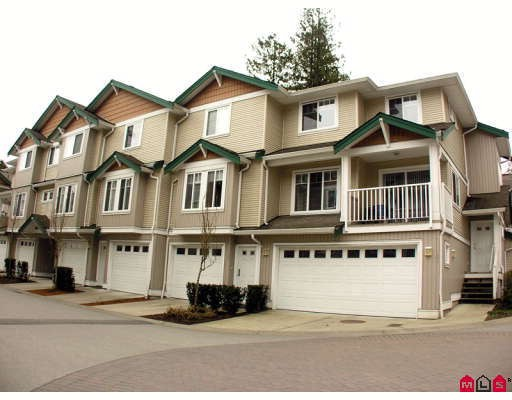 "Main Photo: 37 12711 64TH Avenue in Surrey: West Newton Townhouse for sale in ""PALETTE ON THE PARK"" : MLS®# F2905934"