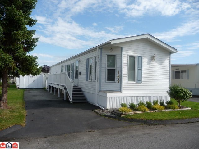 "Main Photo: 169 1840 160TH Street in Surrey: King George Corridor Manufactured Home for sale in ""Breakaway Bays"" (South Surrey White Rock)  : MLS® # F1118468"
