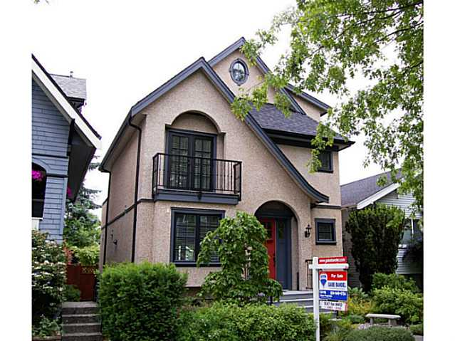 Main Photo: 855 W 19TH AV in Vancouver: Cambie House for sale (Vancouver West)  : MLS® # V988760