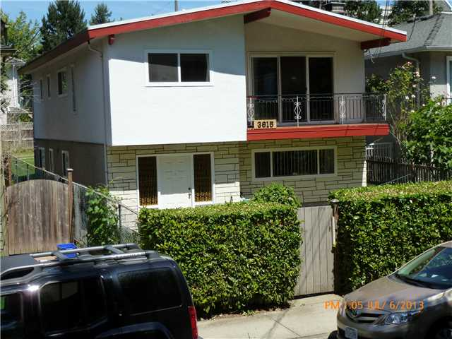 Main Photo: 3615 VANNESS AV in Vancouver: Collingwood VE House for sale (Vancouver East)  : MLS® # V1016355
