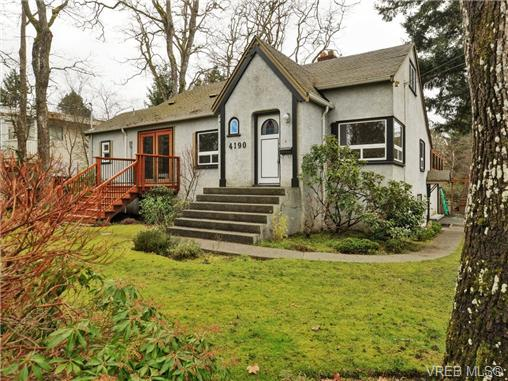 Main Photo: 4190 Cedar Hill Road in VICTORIA: SE Mt Doug Single Family Detached for sale (Saanich East)  : MLS® # 360036