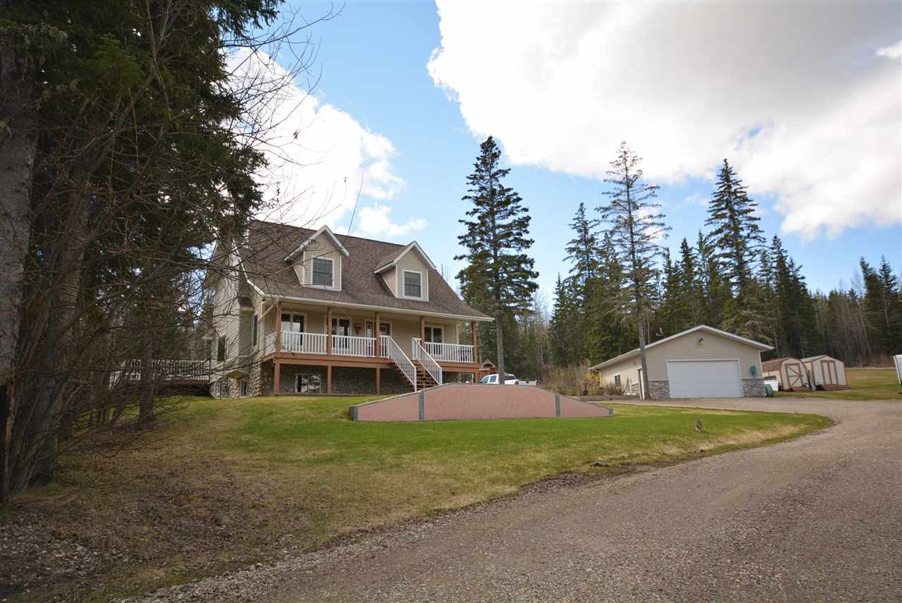 Main Photo: 13318 GOURLEY SUBDIV in Fort St. John: Fort St. John - Rural W 100th House for sale (Fort St. John (Zone 60))  : MLS® # R2167731