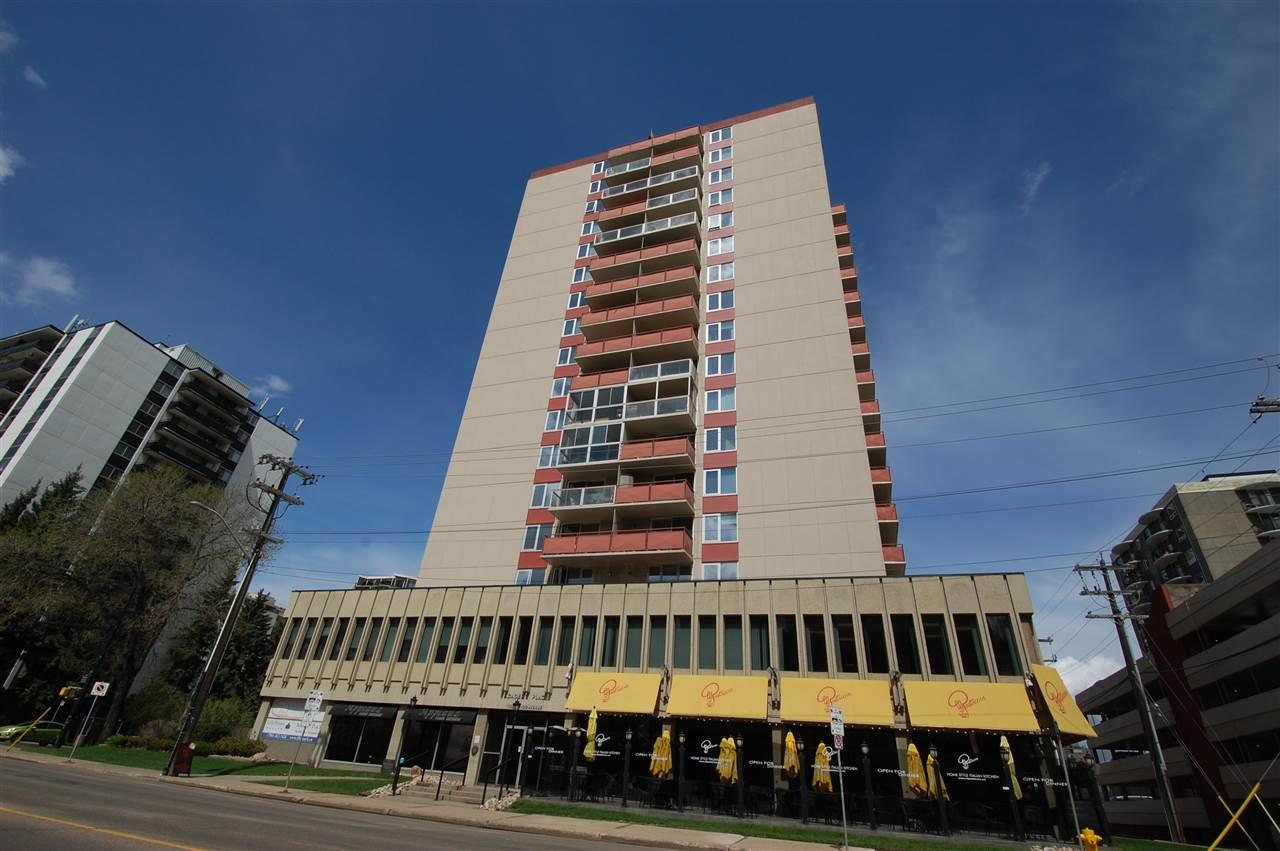 Main Photo: 1001 10011 116 ST in Edmonton: Zone 12 Condo for sale : MLS(r) # E4068236