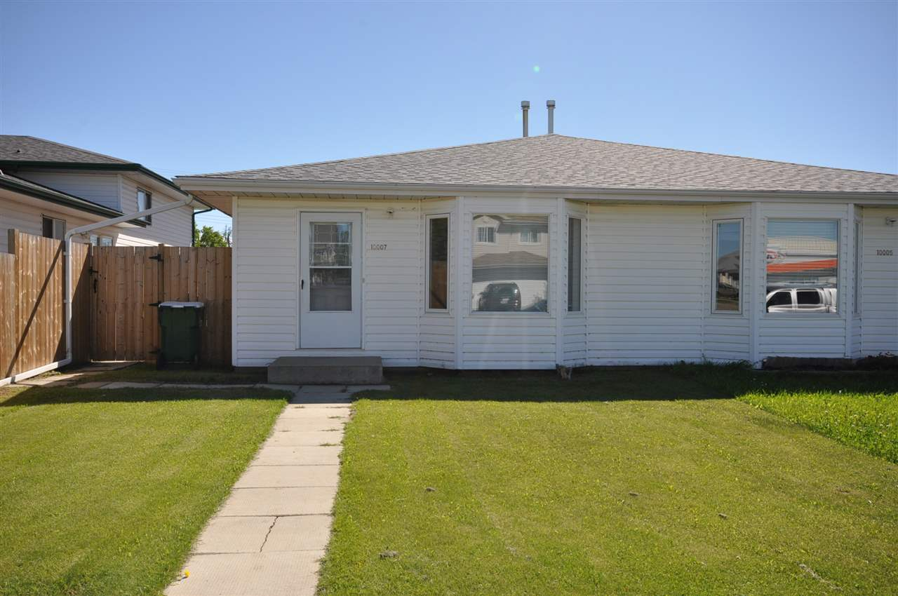 Main Photo: 10007 106 Street: Morinville House Half Duplex for sale : MLS(r) # E4070138