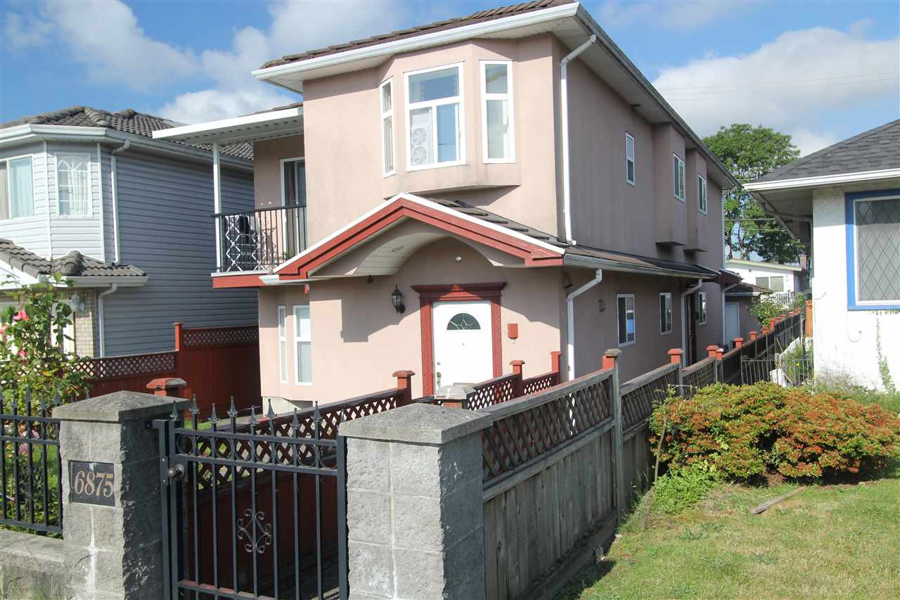 Main Photo: 6875 VICTORIA Drive in Vancouver: Killarney VE House 1/2 Duplex for sale (Vancouver East)  : MLS® # R2186143