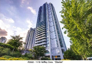 "Main Photo: 3502 1178 HEFFLEY Crescent in Coquitlam: North Coquitlam Condo for sale in ""Obelisk"" : MLS® # R2195278"