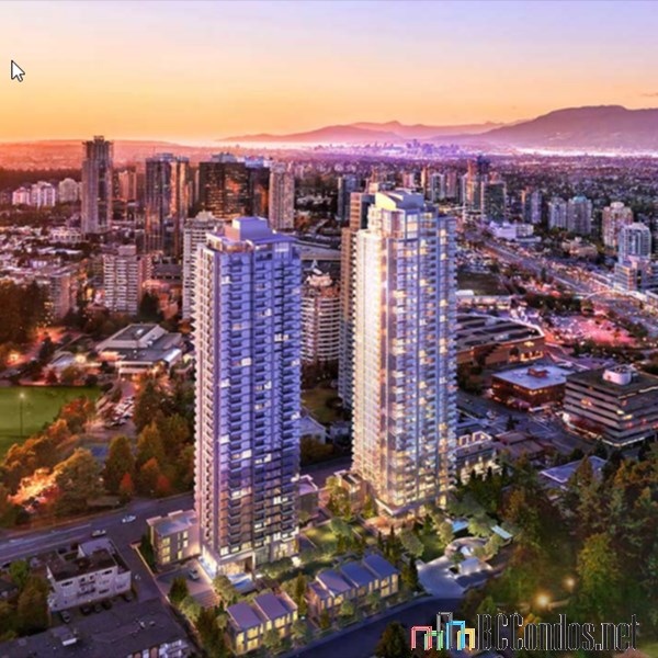 "Main Photo: 2705 6538 NELSON Avenue in Burnaby: Metrotown Condo for sale in ""MET2"" (Burnaby South)  : MLS® # R2204270"