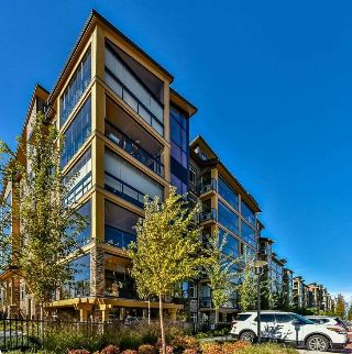 "Main Photo: 414 8067 207 Street in Langley: Willoughby Heights Condo for sale in ""Yorkson Creek Parkside One"" : MLS® # R2214873"