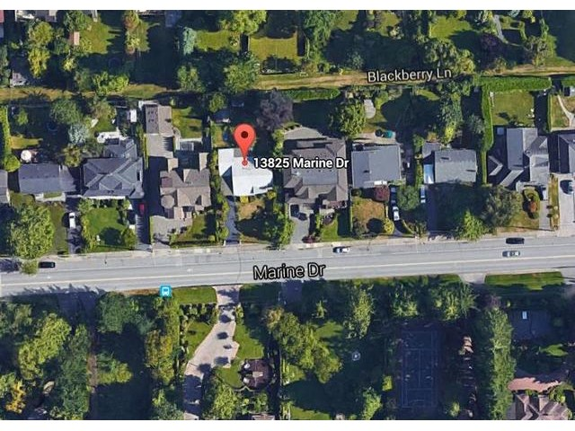 Main Photo: 13825 MARINE Drive: White Rock House for sale (South Surrey White Rock)  : MLS® # F1448525
