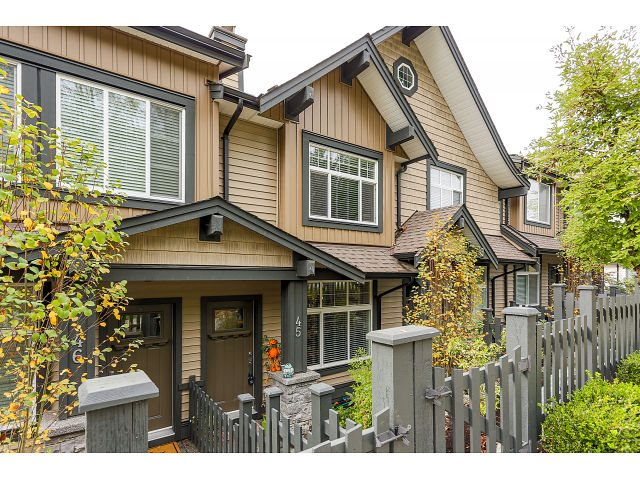 "Main Photo: 45 13819 232 Street in Maple Ridge: Silver Valley Townhouse for sale in ""BRIGHTON"" : MLS® # R2007161"