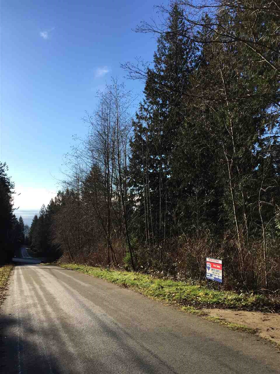 Main Photo: LOT H GEDDES ROAD: Roberts Creek Home for sale (Sunshine Coast)  : MLS® # R2023231