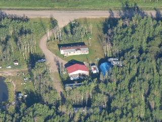 Main Photo: 57215 Rge Rd 25: Rural Barrhead County Manufactured Home for sale : MLS® # E4032481