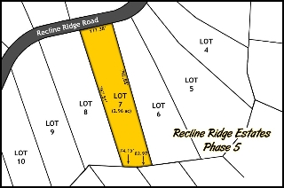 Main Photo: Lot 7 Recline Ridge Road in Tappen: Land Only for sale : MLS®# 10150882