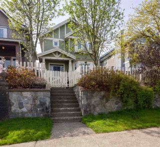"Main Photo: 1936 ADANAC Street in Vancouver: Hastings House 1/2 Duplex for sale in ""Commercial Drive"" (Vancouver East)  : MLS®# R2259910"