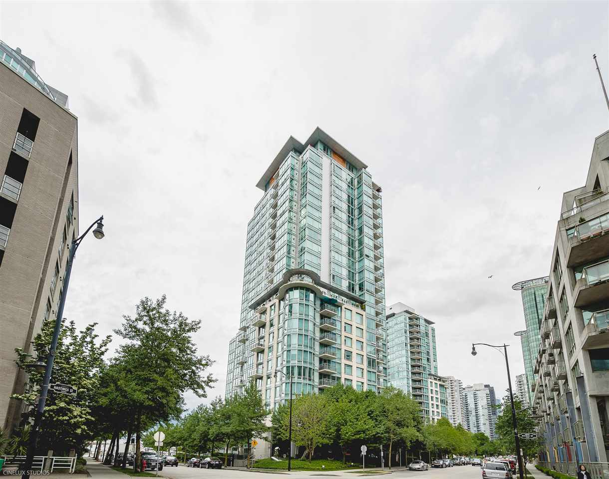 "Main Photo: 504 590 NICOLA Street in Vancouver: Coal Harbour Condo for sale in ""CASCINA"" (Vancouver West)  : MLS®# R2278510"