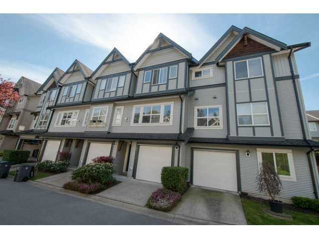 "Main Photo: 23 8737 161ST Street in Surrey: Fleetwood Tynehead Townhouse for sale in ""Boardwalk"" : MLS®# F1409028"