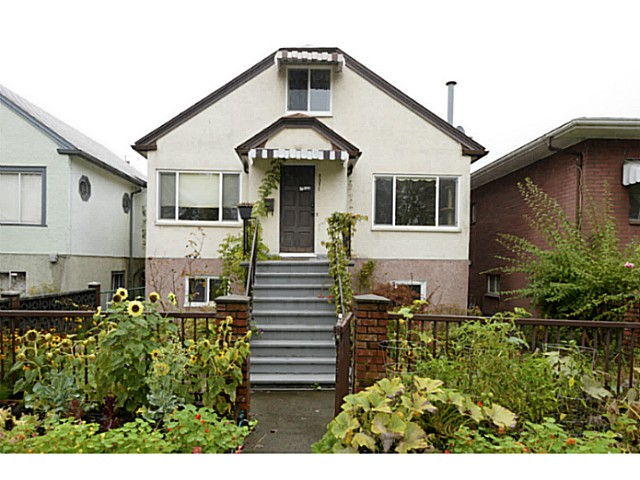 Main Photo: 2371 ADANAC Street in Vancouver: Hastings House for sale (Vancouver East)  : MLS® # V1085430