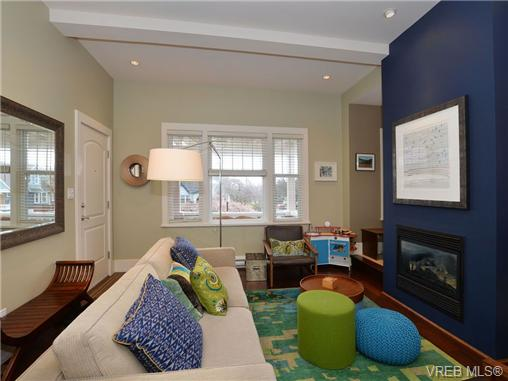 Photo 3: 1 80 Moss Street in VICTORIA: Vi Fairfield West Townhouse for sale (Victoria)  : MLS® # 347353