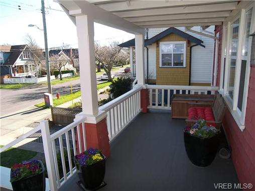 Photo 2: 1 80 Moss Street in VICTORIA: Vi Fairfield West Townhouse for sale (Victoria)  : MLS® # 347353