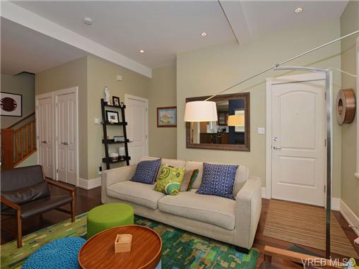 Photo 4: 1 80 Moss Street in VICTORIA: Vi Fairfield West Townhouse for sale (Victoria)  : MLS® # 347353