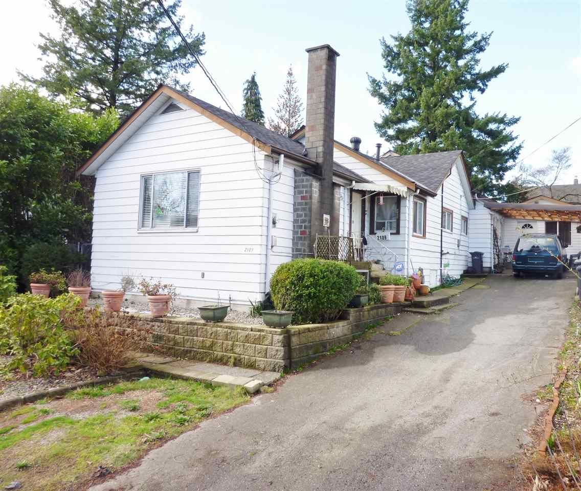 Main Photo: 2109 SEVENTH Avenue in New Westminster: Connaught Heights House for sale : MLS® # R2034470