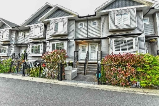 "Main Photo: 27 11255 132 Street in Surrey: Bridgeview Townhouse for sale in ""Fraserview Terrace"" (North Surrey)  : MLS®# R2064332"