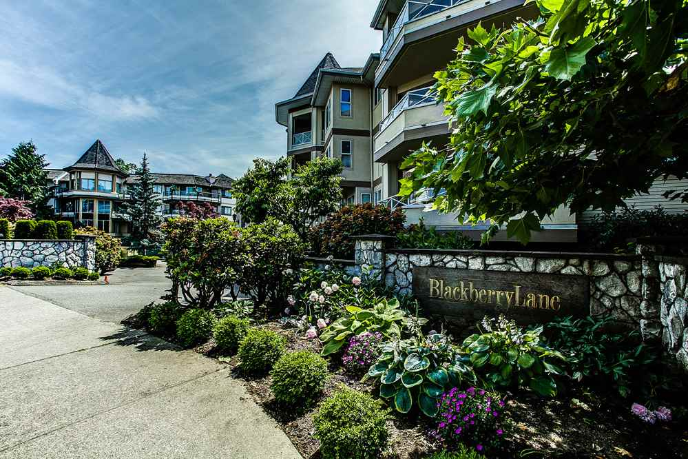 "Main Photo: 306 20120 56 Avenue in Langley: Langley City Condo for sale in ""Blackberry Lane"" : MLS® # R2084458"