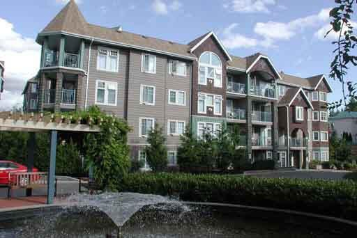"Main Photo: 414 3085 PRIMROSE Lane in Coquitlam: North Coquitlam Condo for sale in ""LAKESIDE TERRACE"" : MLS®# R2132531"