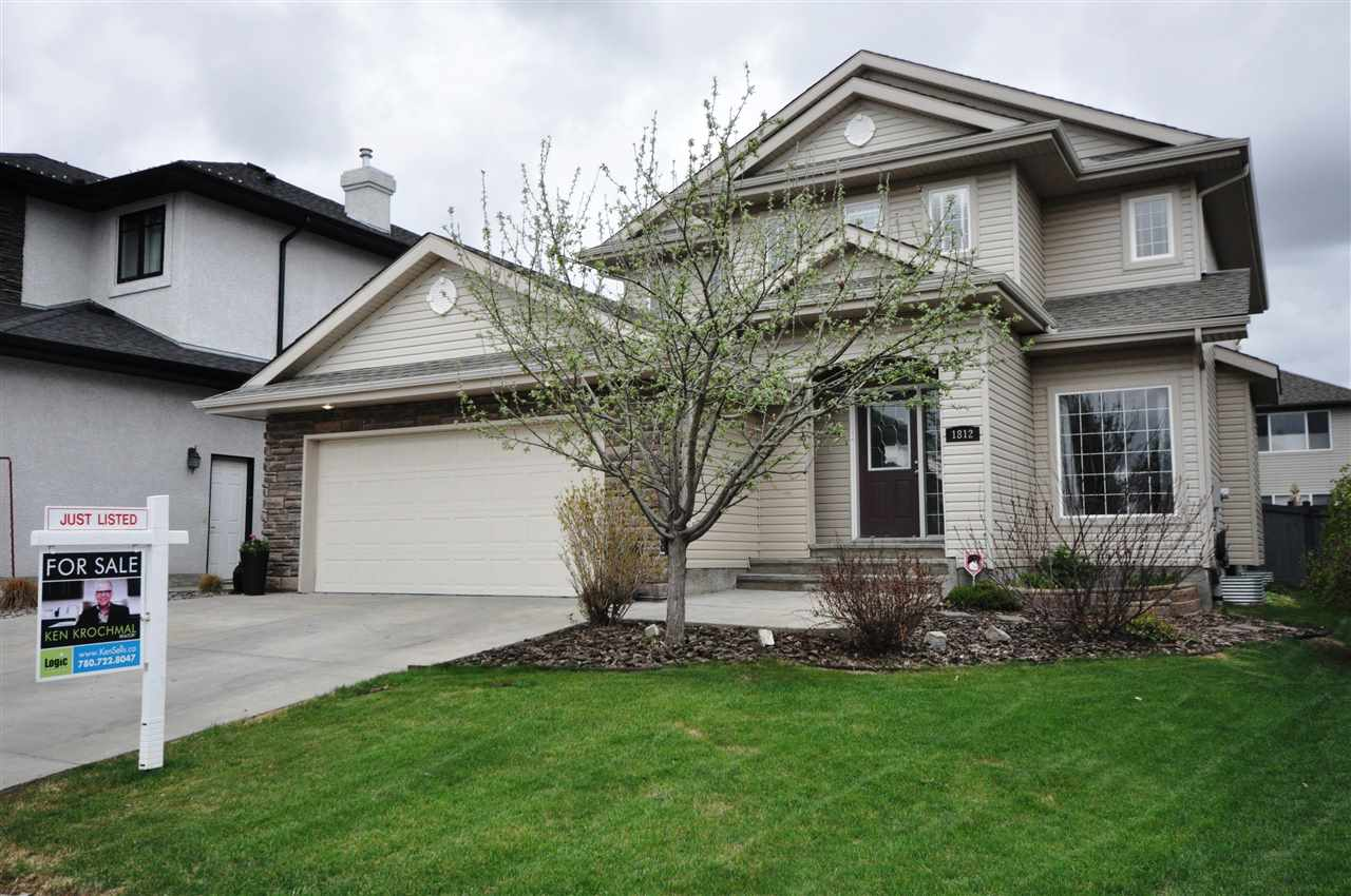 Main Photo: 1812 Bowman Point in Edmonton: Zone 55 House for sale : MLS® # E4063954