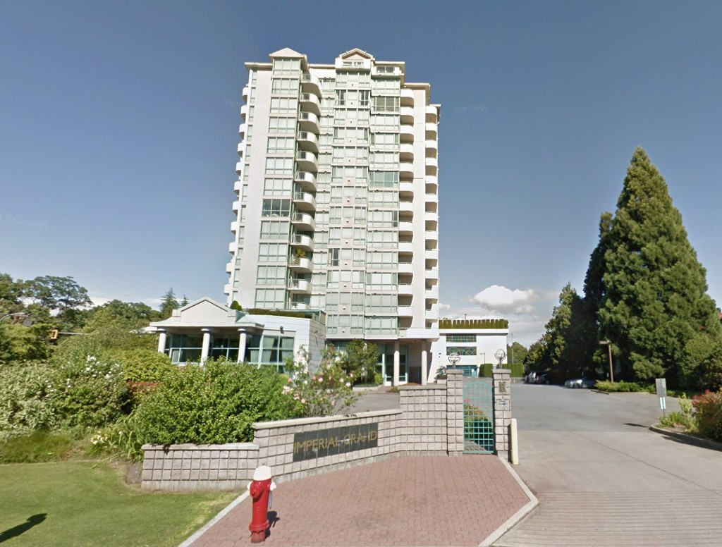 Main Photo: 708 7500 Granville Ave in Richmond: Brighouse South Condo for sale : MLS(r) # R2165414
