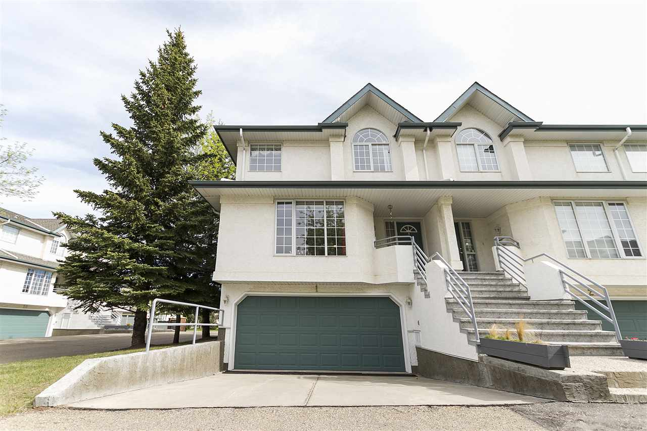 Main Photo: 1 882 RYAN Place in Edmonton: Zone 14 Townhouse for sale : MLS® # E4065696