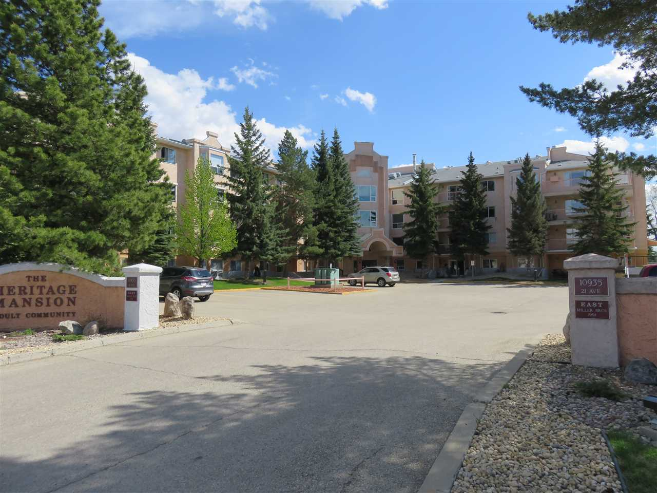 Main Photo: 403 10935 21 Avenue in Edmonton: Zone 16 Condo for sale : MLS(r) # E4067182