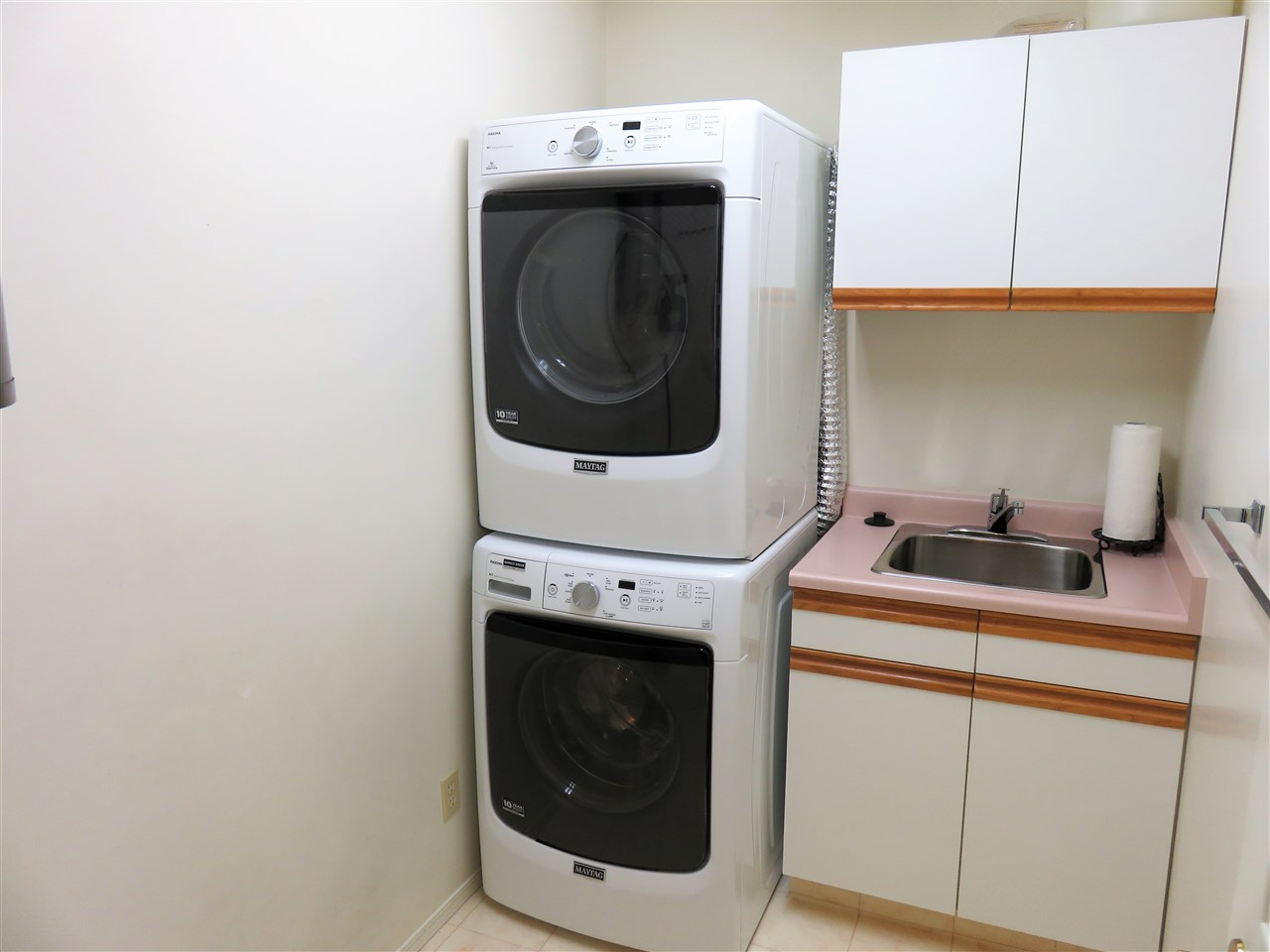 Here is your Laundry Room! Note the newer HE FRONT LOAD WASHER & DRYER! :)