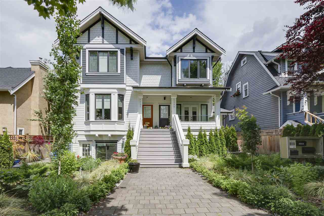 Main Photo: 2339 W 10TH AVENUE in Vancouver: Kitsilano Townhouse for sale (Vancouver West)  : MLS® # R2176866