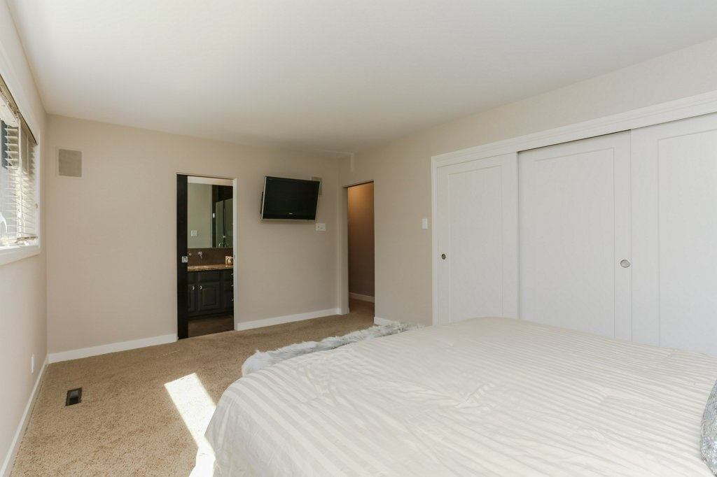 Master bedroom has a large closet and 3 piece ensuite