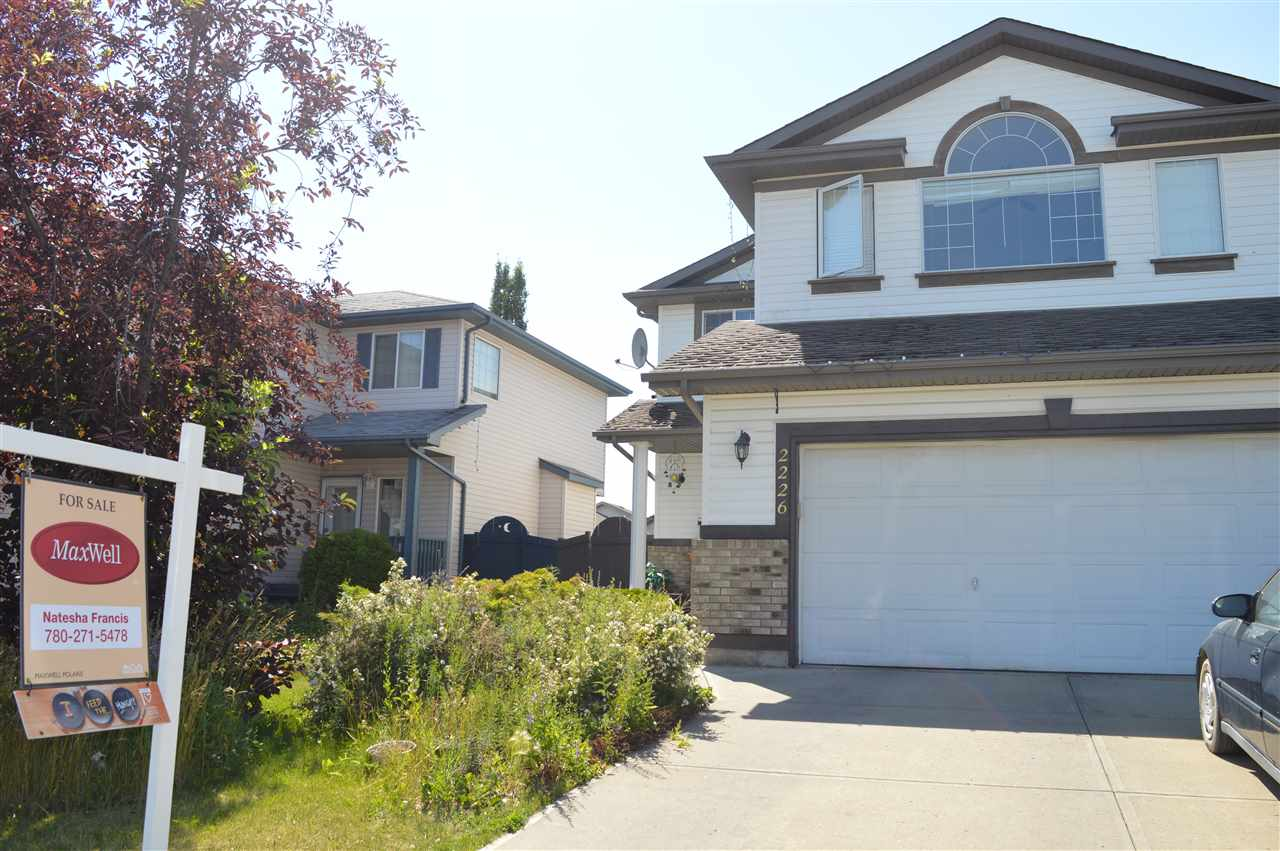 Main Photo: 2226 KAUFMAN Way in Edmonton: Zone 29 House for sale : MLS® # E4073051