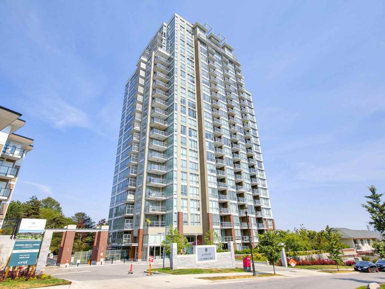 "Photo 4: 2303 271 FRANCIS Way in New Westminster: Fraserview NW Condo for sale in ""PARKSIDE"" : MLS(r) # R2188728"