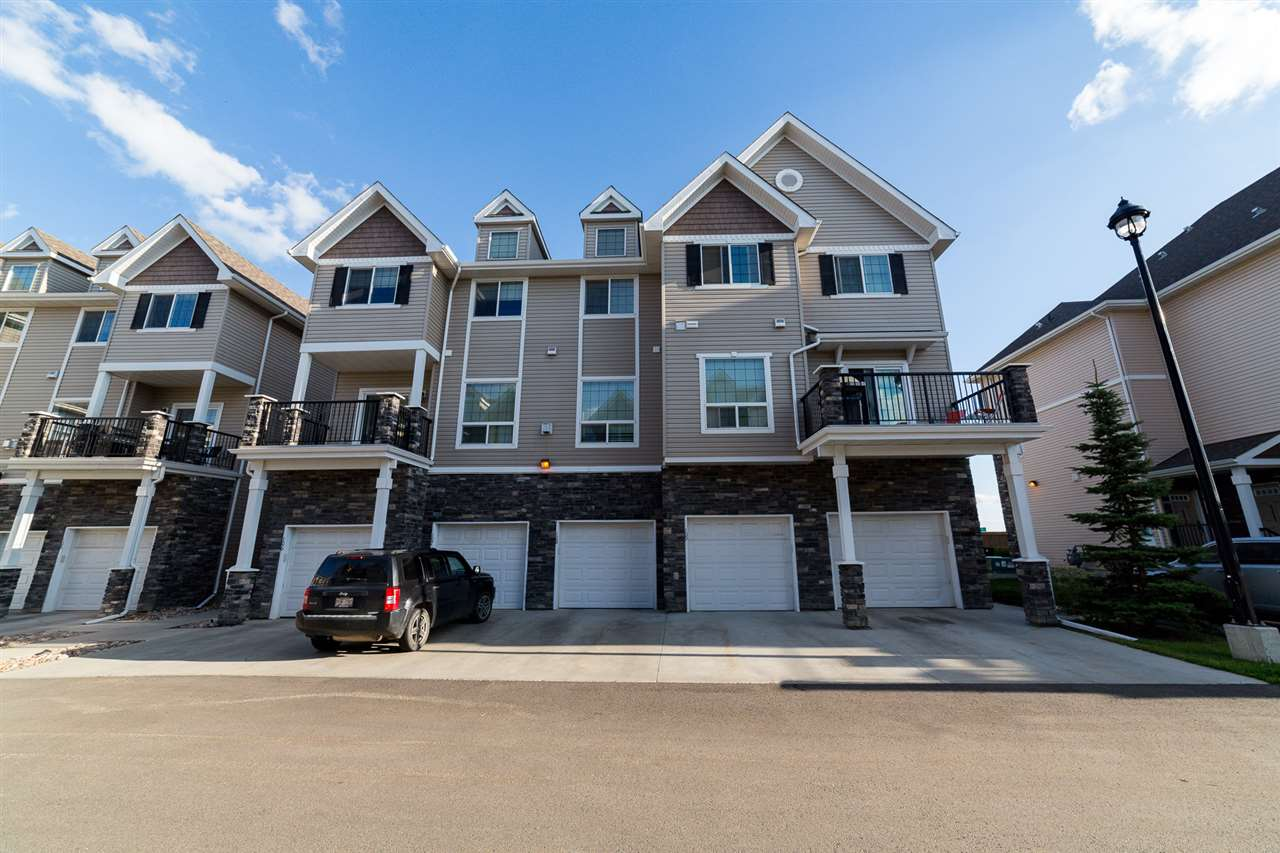 Main Photo: 109 7293 SOUTH TERWILLEGAR Drive in Edmonton: Zone 14 Townhouse for sale : MLS® # E4077268