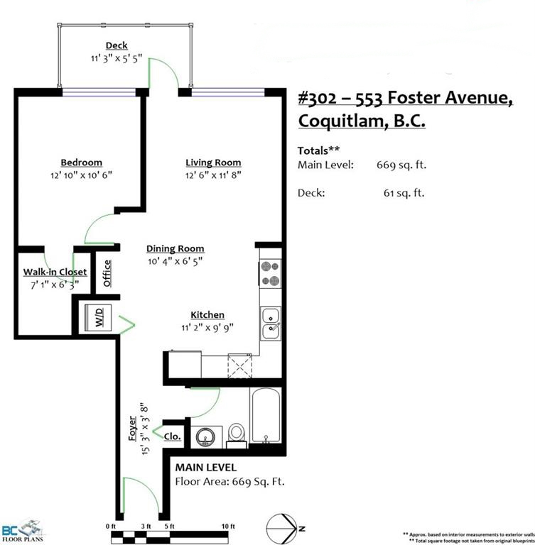 "Photo 10: 302 553 FOSTER Avenue in Coquitlam: Coquitlam West Condo for sale in ""FOSTER"" : MLS® # R2196219"