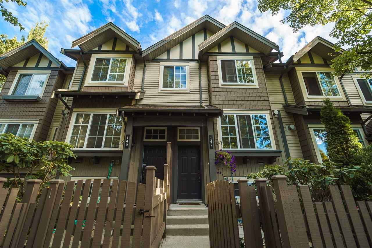 "Main Photo: 147 3288 NOEL Drive in Burnaby: Sullivan Heights Townhouse for sale in ""STONEBROOK"" (Burnaby North)  : MLS® # R2199100"