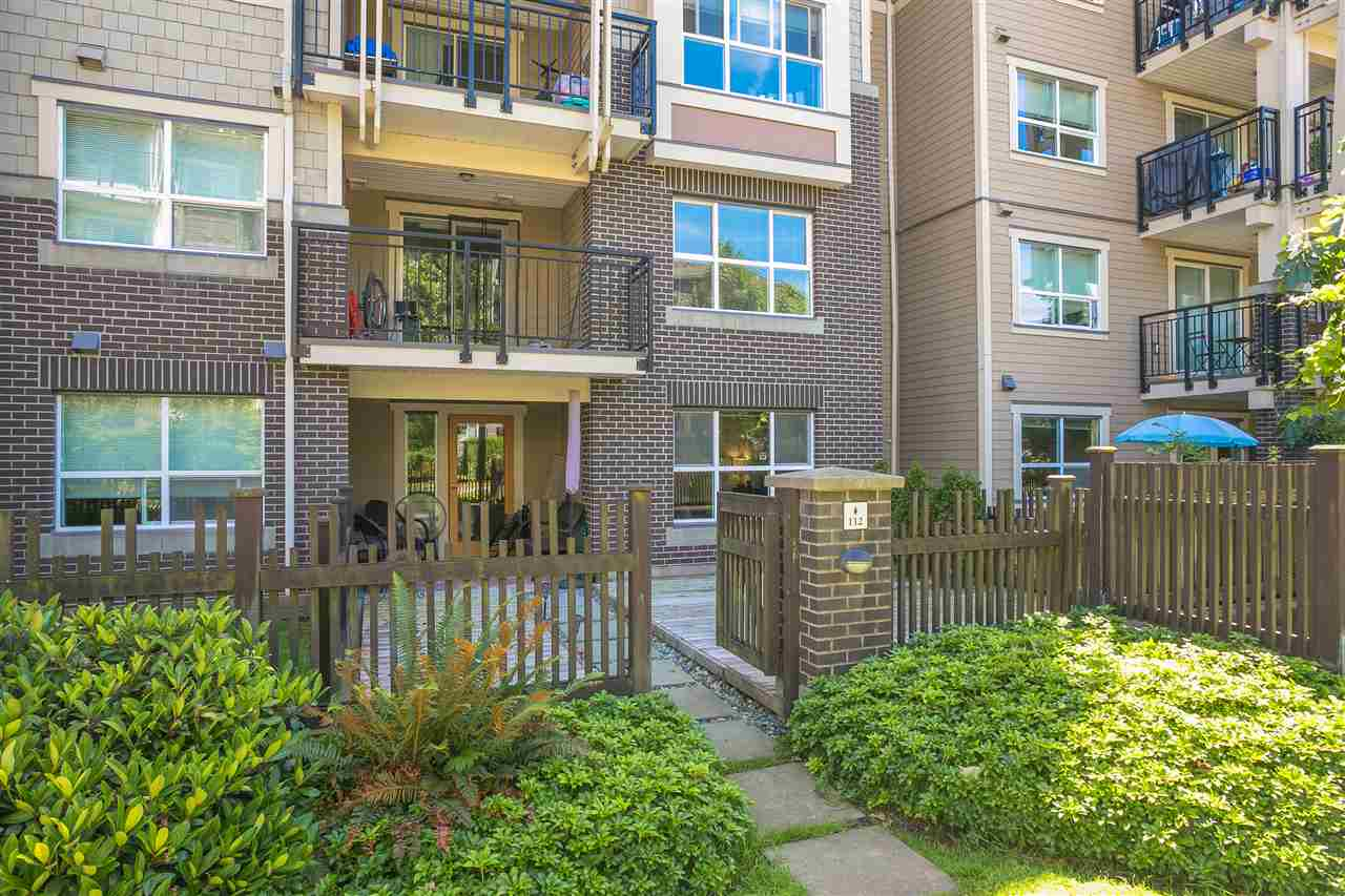 "Main Photo: 112 5775 IRMIN Street in Burnaby: Metrotown Condo for sale in ""Macpherson Walk"" (Burnaby South)  : MLS®# R2285447"