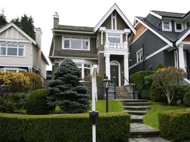 Main Photo: 3016 W 24TH AV in Vancouver: Dunbar House for sale (Vancouver West)  : MLS(r) # V1034702