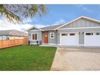 Main Photo: 10216 Pleasant Street in SIDNEY: Si Sidney North-East Strata Duplex Unit for sale (Sidney)  : MLS(r) # 348104