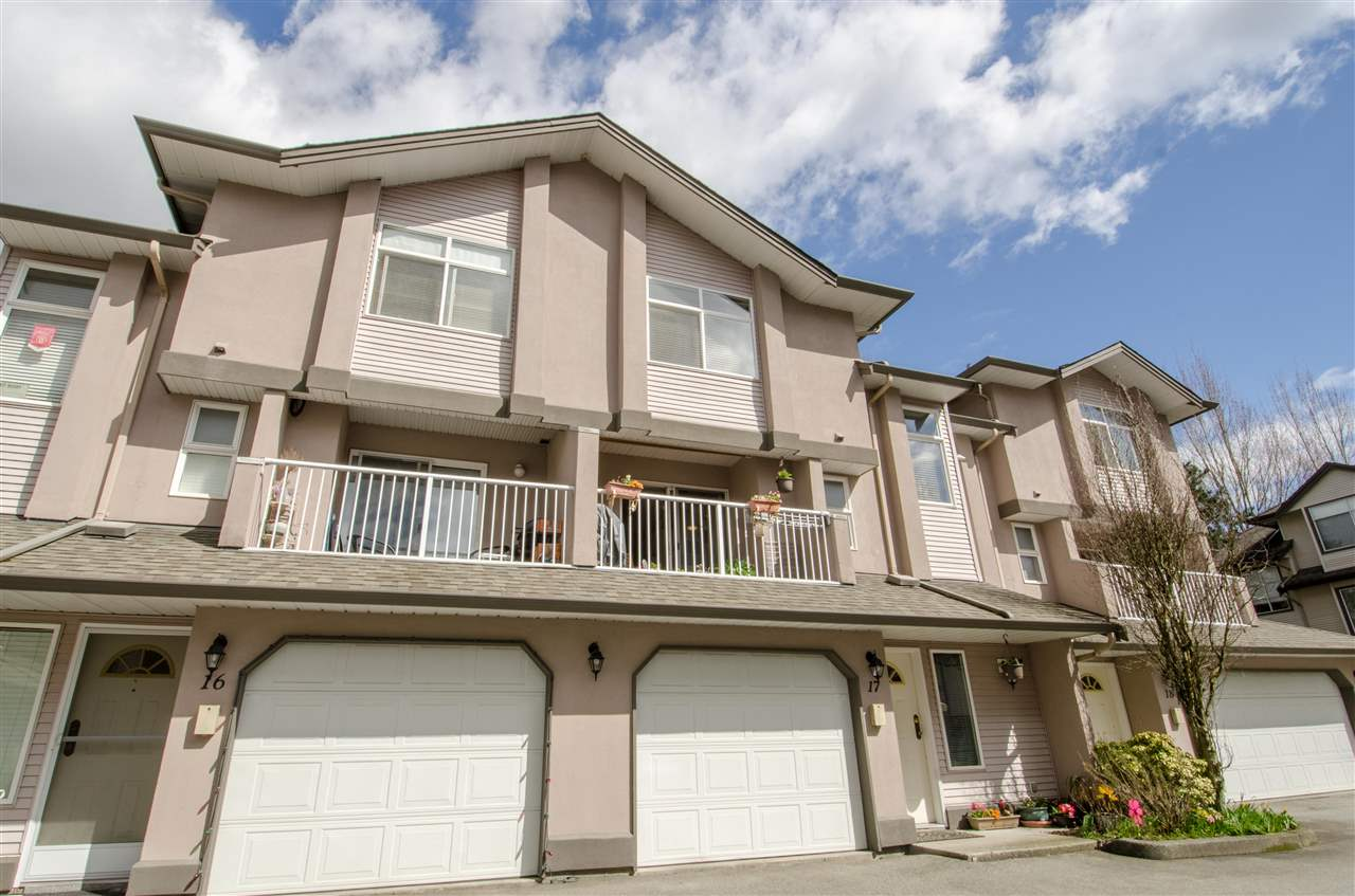 Photo 1: Photos: 17 2538 PITT RIVER Road in Port Coquitlam: Mary Hill Townhouse for sale : MLS®# R2151946