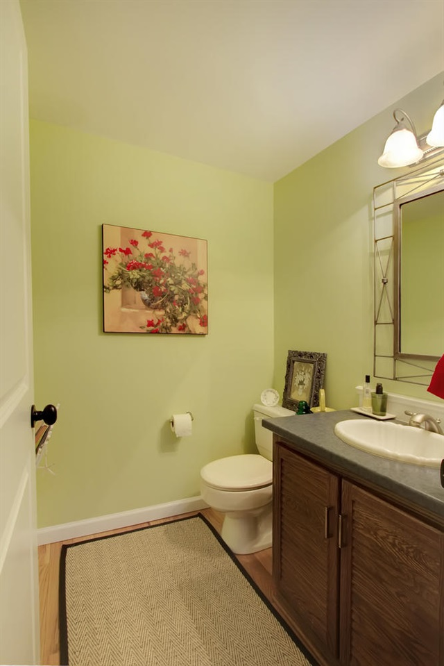 2 Piece Main Floor Powder Room