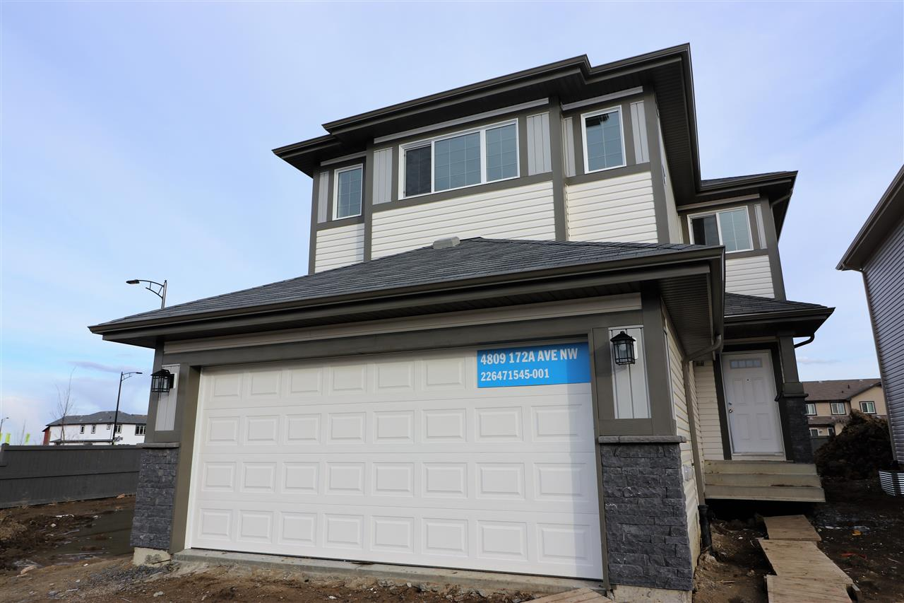 Main Photo: 4809 172A Avenue in Edmonton: Zone 03 House for sale : MLS(r) # E4059197