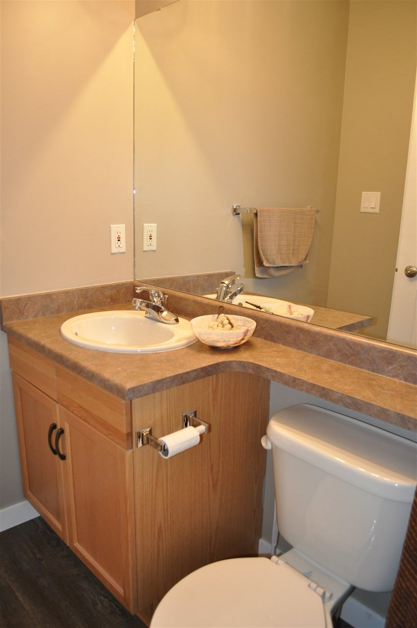 The main bathroom is a full 4 piece, and is steps away from the second bedroom in the unit.  The master suite has a great 4 piece bathroom as well