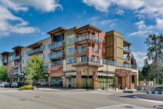 "Main Photo: 210 20728 WILLOUGHBY TOWN Centre in Langley: Langley City Condo for sale in ""KENSINGTON AT WILLOUGHBY TOWN CE"" : MLS® # R2232255"