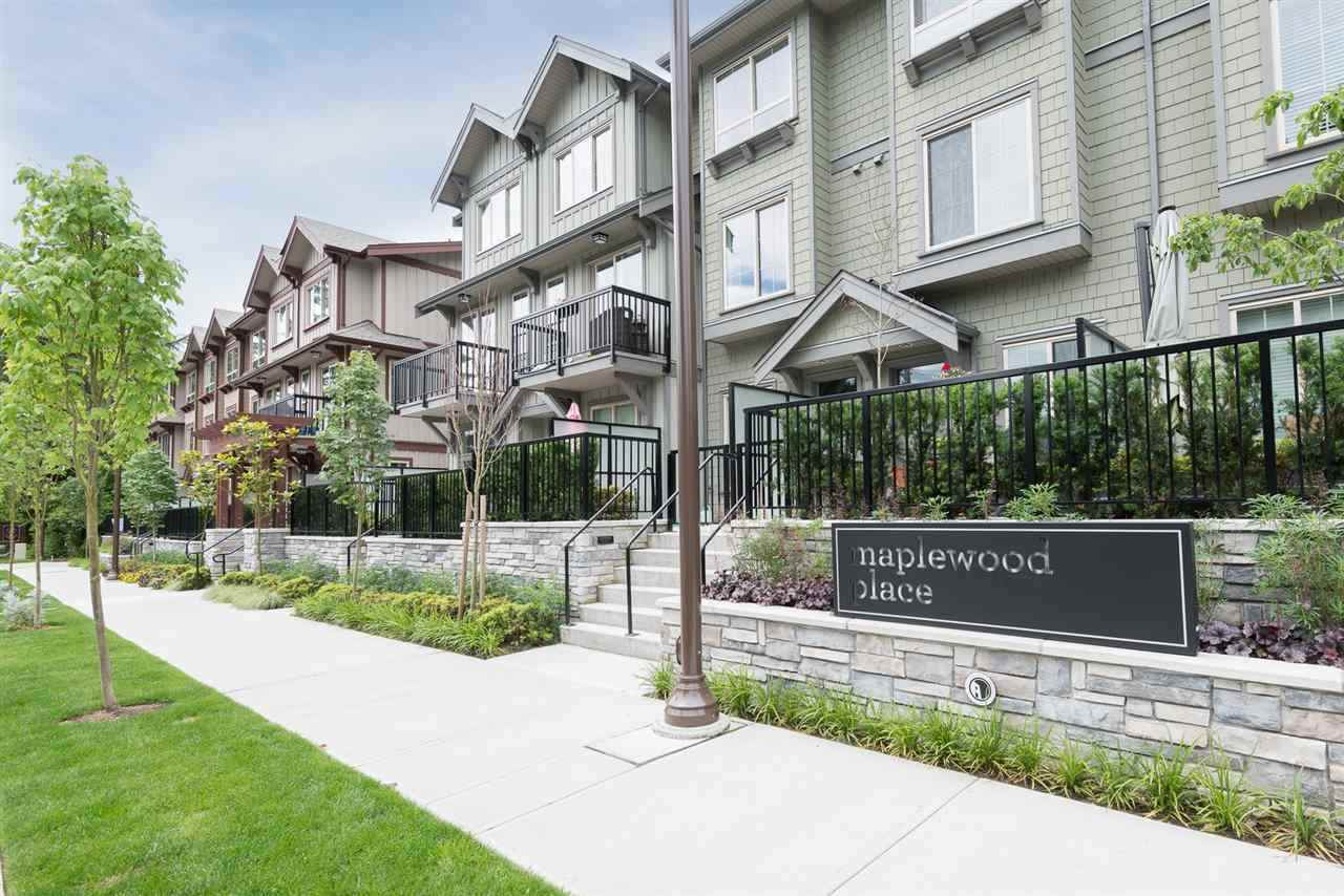 "Main Photo: 18 433 SEYMOUR RIVER Place in North Vancouver: Seymour NV Townhouse for sale in ""Maplewood"" : MLS®# R2232288"